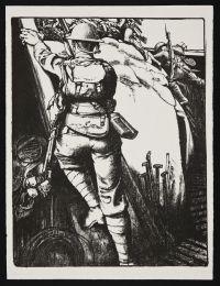 KENNINGTON, Eric Henri. Over the Top (1917)