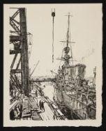 BONE, David Muirhead. Ready for Sea (1917)