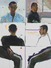 Zheng Haozhong. QIU CHEN. 2013. Oil painting. 200 x 150 cm