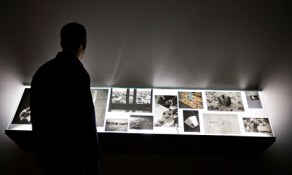 Tris Vonna-Michell's Addendum 1 (Finding Chopin: Dans l'Essex) at the Turner prize exhibition at Tate Britain. Photograph: Graeme Robertson