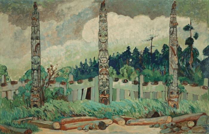 Tanoo, Queen Charlotte Island, BC, 1913. Photograph: Royal BC Museum