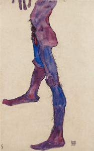 Male Lower Torso, 1910. Photograph: The Leopold Museum, Vienna