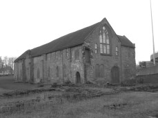Whitefriars, comprising remaining buildings of former Carmelite monastery. (Church demolished.) Grade I listed. Has suffered more structural damage from the nearby ring road than in all its previous centuries │ 2014