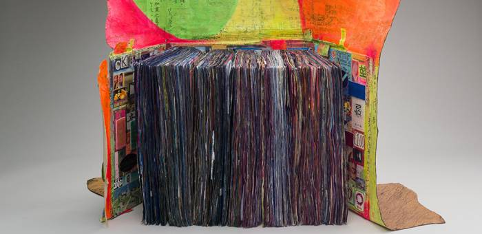 Shinro Ohtake, 'Scrapbook #66', 2010-2012. Mixed media artist book, 72 x 96 x 129 cm, 27.2 kg, 830 pages. Courtesy of the artist and Take Ninagawa, Tokyo