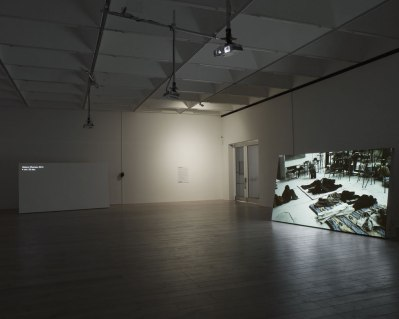 Installation shot of How the Work is Done, 2011. Courtesy of the artist and Galerie Zak, Branicka, Berlin. Photo by Andy Keate.
