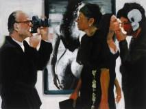 Art Fair: Booth #60 Shoot/Please (study), 2014 Oil on Linen 91.4 x 121.9 cm, 36 x 48 in