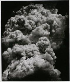 Toshio Fukada: The Mushroom Cloud – Less than twenty minutes after the explosion (4), 1945. Tokyo Metropolitan Museum of Photography. © The estate of Toshio Fukada, courtesy Hiroshima Peace Memorial Museum
