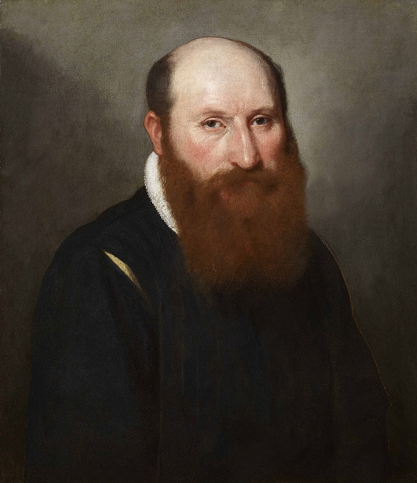 Portrait of a Man with a Red Beard, c.1558-59