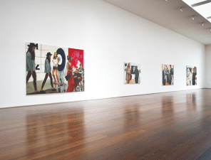 Installation View, Eric Fischl, Art Fair paintings, Gallery II, Victoria Miro, 16 Wharf Road London N1 7RW, 2014