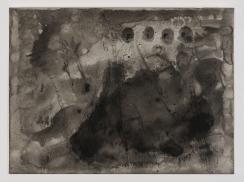 Fire 1, 2013. Watercolour, 20 13/16 x 14 9/16 inches
