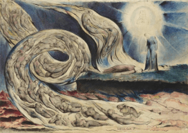 William Blake: The Circle of the Lustful, 1824-27. Photograph: © Birmingham Museums and Art Gallery