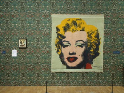 Installation image. Andy Warhol: Marilyn. Photo: Andy Keate