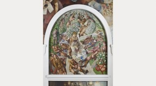 'Map Reading', Sandham Memorial Chapel © National Trust/John Hammond
