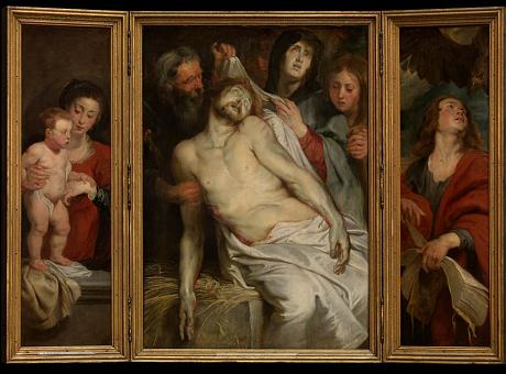 'Christ on the Straw', by Rubens, 1617-18. © Royal Museum of Fine Arts Antwerp