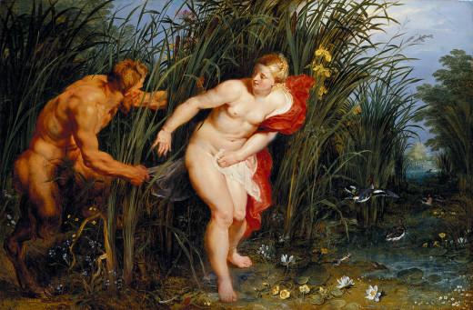 Peter Paul Rubens: Pan and Syrinx, 1617