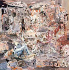 CECILY BROWN Maid's Day Off, 2005, 200.7 x 198.1 cm, Hiscox Collection