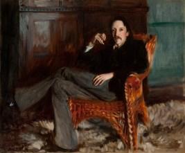 Robert Louis Stevenson, 1887. Taft Museum of Art, Cincinnati, Ohio