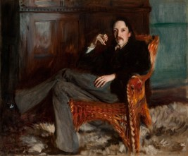 Robert Louis Stevenson, 1887. Taft Museum of Art, Cincinnati, Ohio