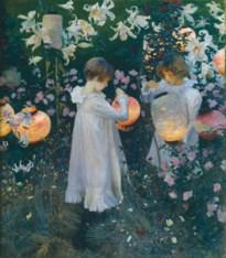 Carnation, Lily, Lily, Rose, 1885-6