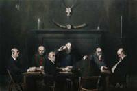 KEN CURRIE Hunting Lodge, 2011, 244 x 366 cm, Flowers Gallery