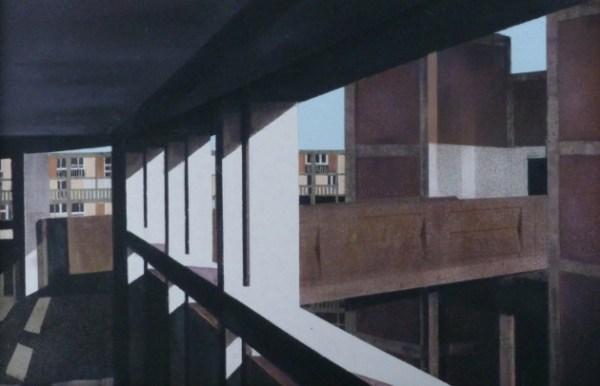 Mandy Payne: Paradise Lost, aerosol on concrete, 21.5 x 31 cm