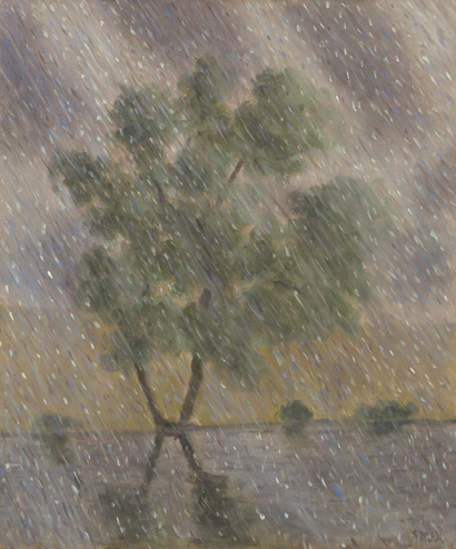 Rainy Tree, 2014, Courtesy of Kerlin Gallery