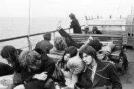 Dylan Concert, Ferry, Isle of Wight, 1969, by Tony Ray-Jones