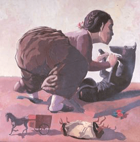 PAULA REGO Snare, 1987, 150 x 150 cm, British Council