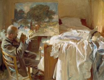 An Artist in His Studio, 1904. Museum of Fine Arts, Boston