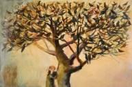 'Tiresias (The Noise of Birds)', Nicola Bealing, 122 x 183 cm