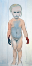 The Painter, 1994. Photograph: The Museum of Modern Art, New York © Marlene Dumas