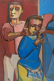 Robert Colquhoun. Oil on canvas, 91.4 x 60.9 cm. Leeds Museums and Galleries