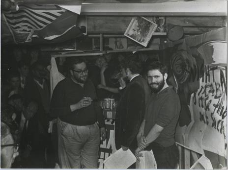 Documentation of City Happening, 1962, Adrian Henri, Pete Brown, Roger McGough.