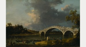 A View Of Walton Bridge, 1754. By permission of the trustees of Dulwich Picture Gallery, London