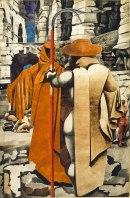 Edward Burra, The Watcher,1937 Photo Tate, London 2014 © Succession Picasso/DACS 2014