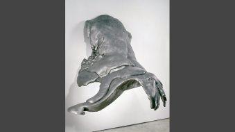 Wing, 1970. Cast aluminum