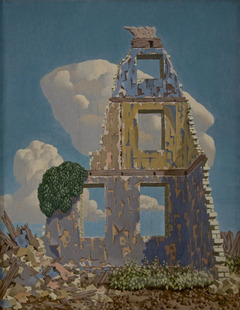 John Armstrong, Windowed Raggedness, 1938, The Haines Collection© Artist's Estate / Bridgeman Images