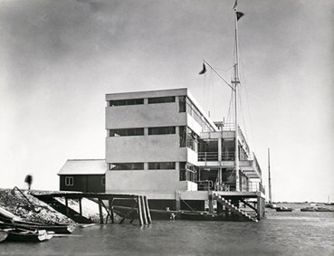The Royal Corinthian Yacht Club, Burnham on Crouch, 1931.