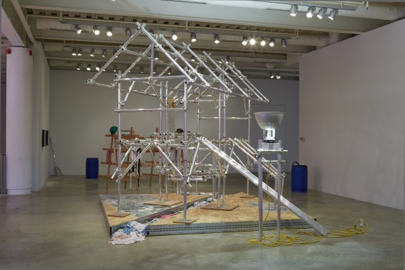 Sutter's Mill, 2013. Installation view. Institute of Contemporary Art, University of Pennsylvania. Photo: Aaron Igler/Greenhouse Media