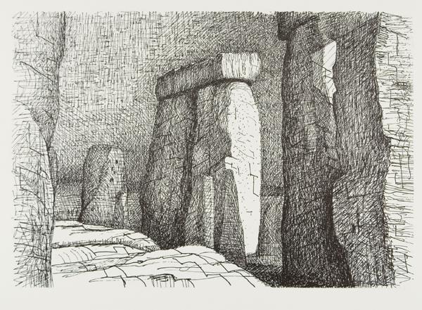Stonehenge, 1973. Photo Michael Phipps