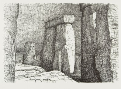 Stonehenge, 1973. Photo Michael Phipps
