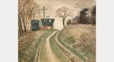 Caravans, 1936. The Fry Art Gallery