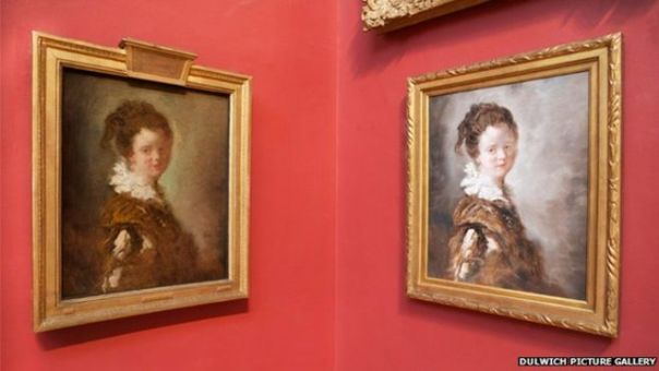 """""""Since February, Jean-Honore Fragonard's 18th Century work Young Woman has been replaced by a $120 (£70) counterfeit, produced in China"""""""