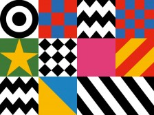 Design motifs from Sir Peter Blake's 'Everybody Razzle Dazzle', 2015. Photo: First World War Centenary