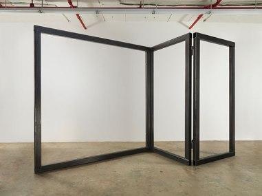 Open Screen, 2014, steel, 3 Panels