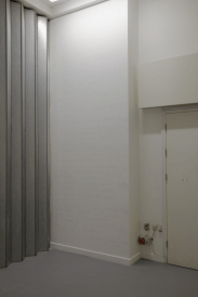 A K Dolven, liberty, 2008. Video installation and wall drawing (detail). Photo: Stuart Whipps