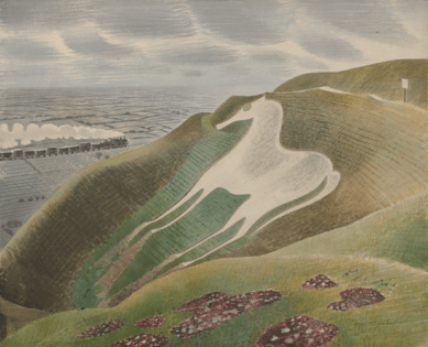 The Westbury Horse, 1939. Photograph: Private Collection, courtesy Towner, Eastbourne