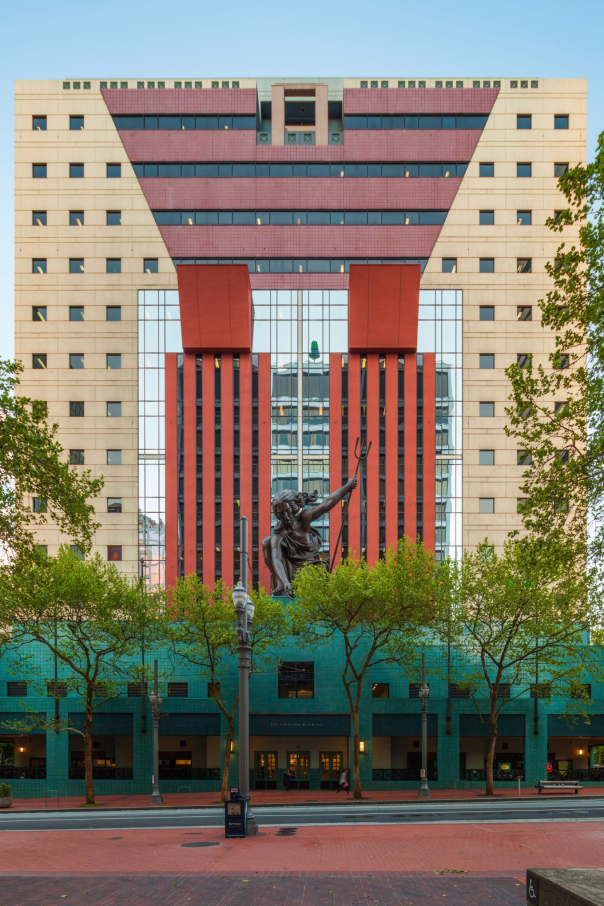The Portland Building in Oregon. Photograph: Alamy