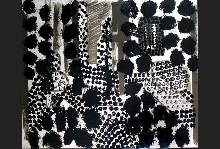 Howard Hodgkin. Souvenir. 1981. Screenprint. 114.3 x 139.7 cm. © courtesy of Howard Hodgkin. Schlee Collection, Southampton