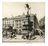 Piccadilly Circus, 1923 (Stanley Anderson Estate)